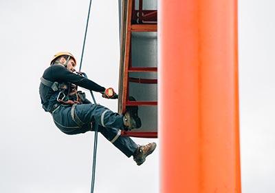 SkyPeople - Rope access specialist reclame en promotie