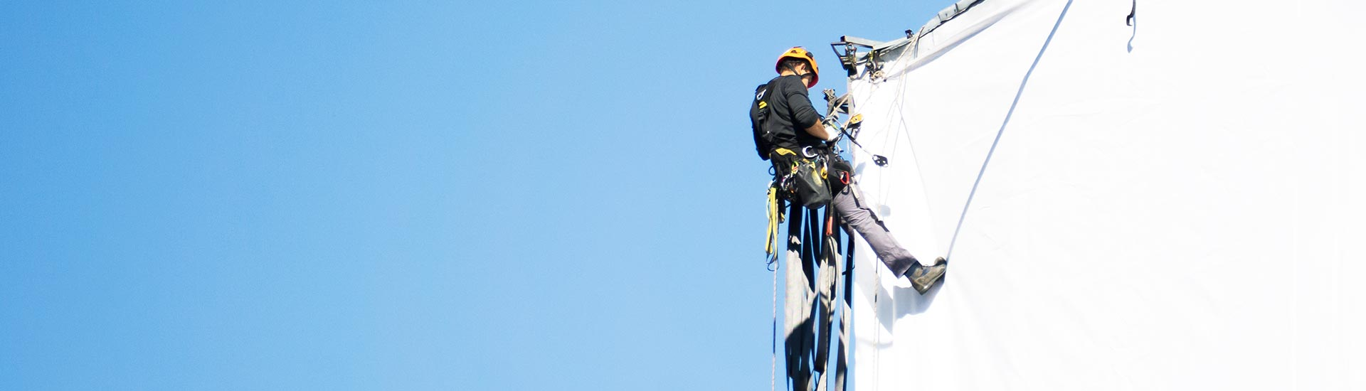 Rope access specialist reclame en promotie