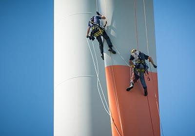 SkyPeople - Rope access specialist windenergie
