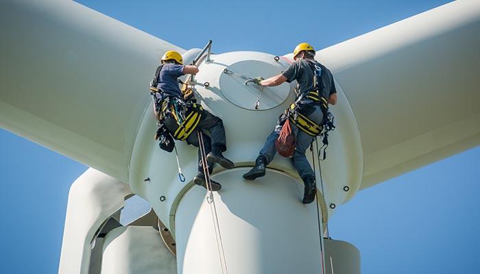 Windturbine monteur - windturbine monteur onderhoud